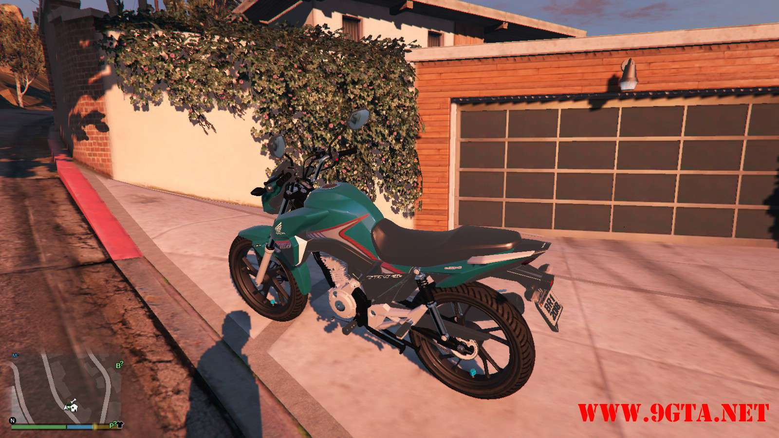 2016 Titan 160 Motocycle GTA5 Mods (7)