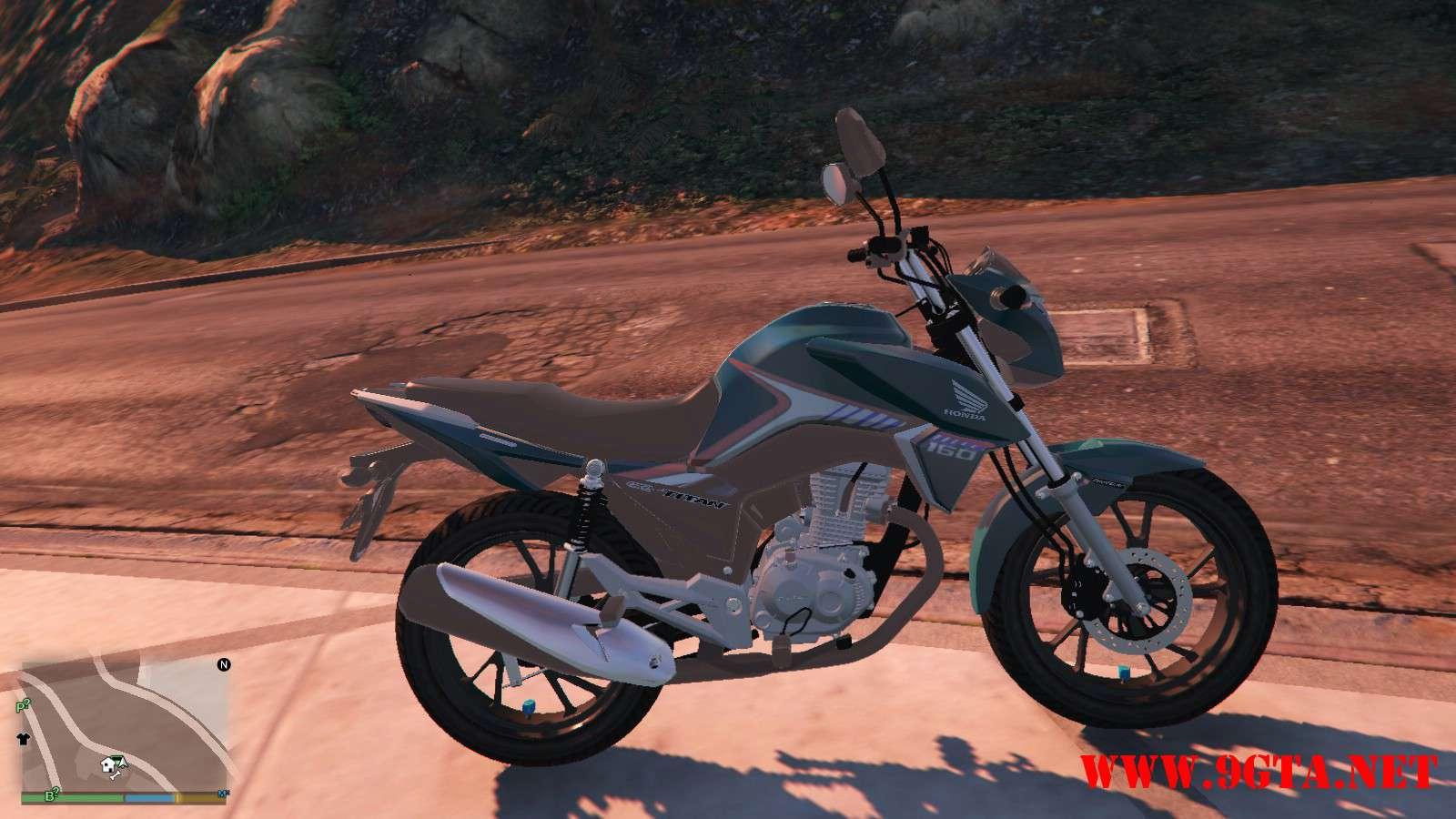 2016 Titan 160 Motocycle GTA5 Mods (8)