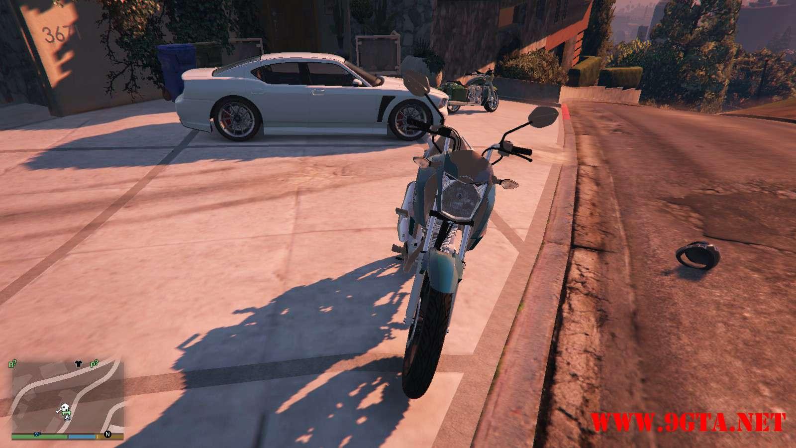 2016 Titan 160 Motocycle GTA5 Mods (9)