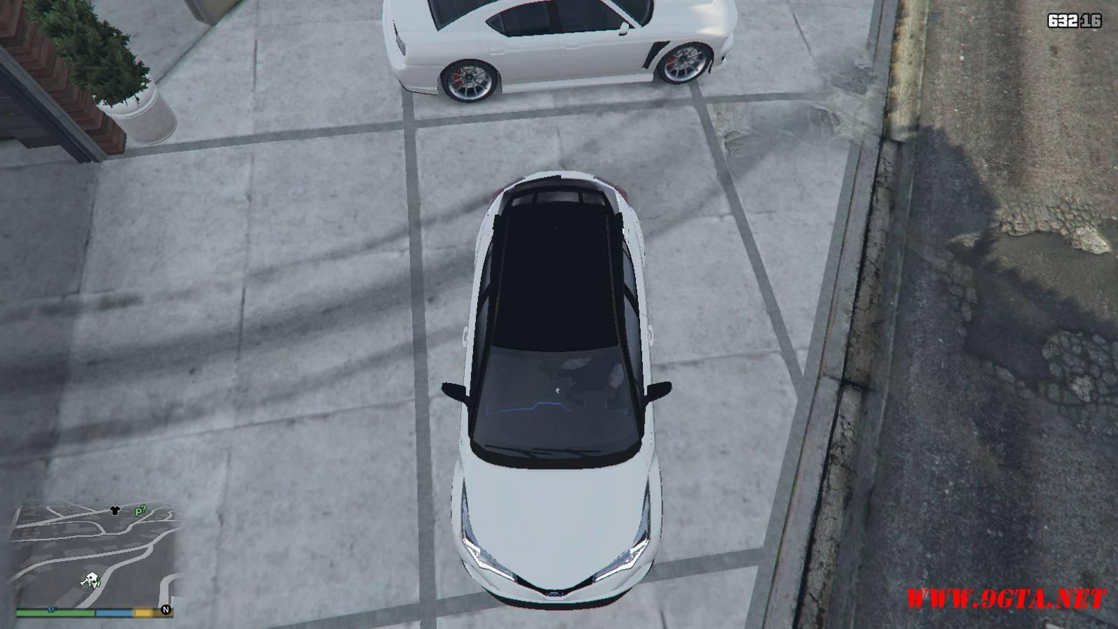 2017 Toyota CH-R Mod For GTA5 (16)