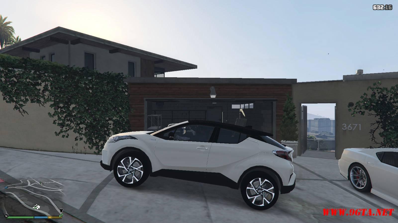 2017 Toyota CH-R Mod For GTA5 (2)
