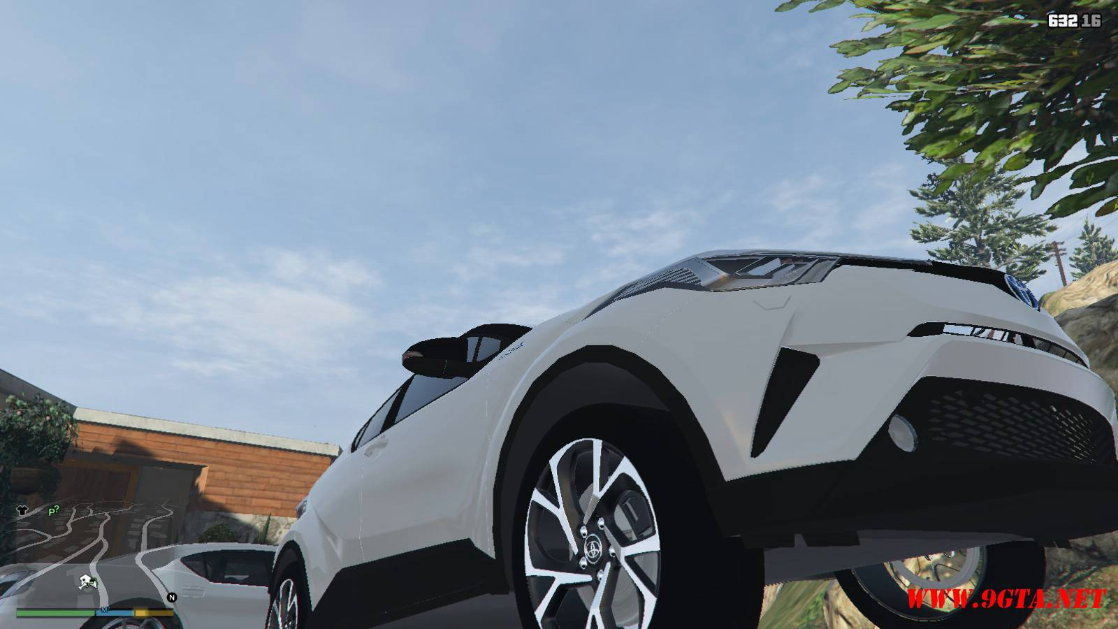 2017 Toyota CH-R Mod For GTA5 (8)
