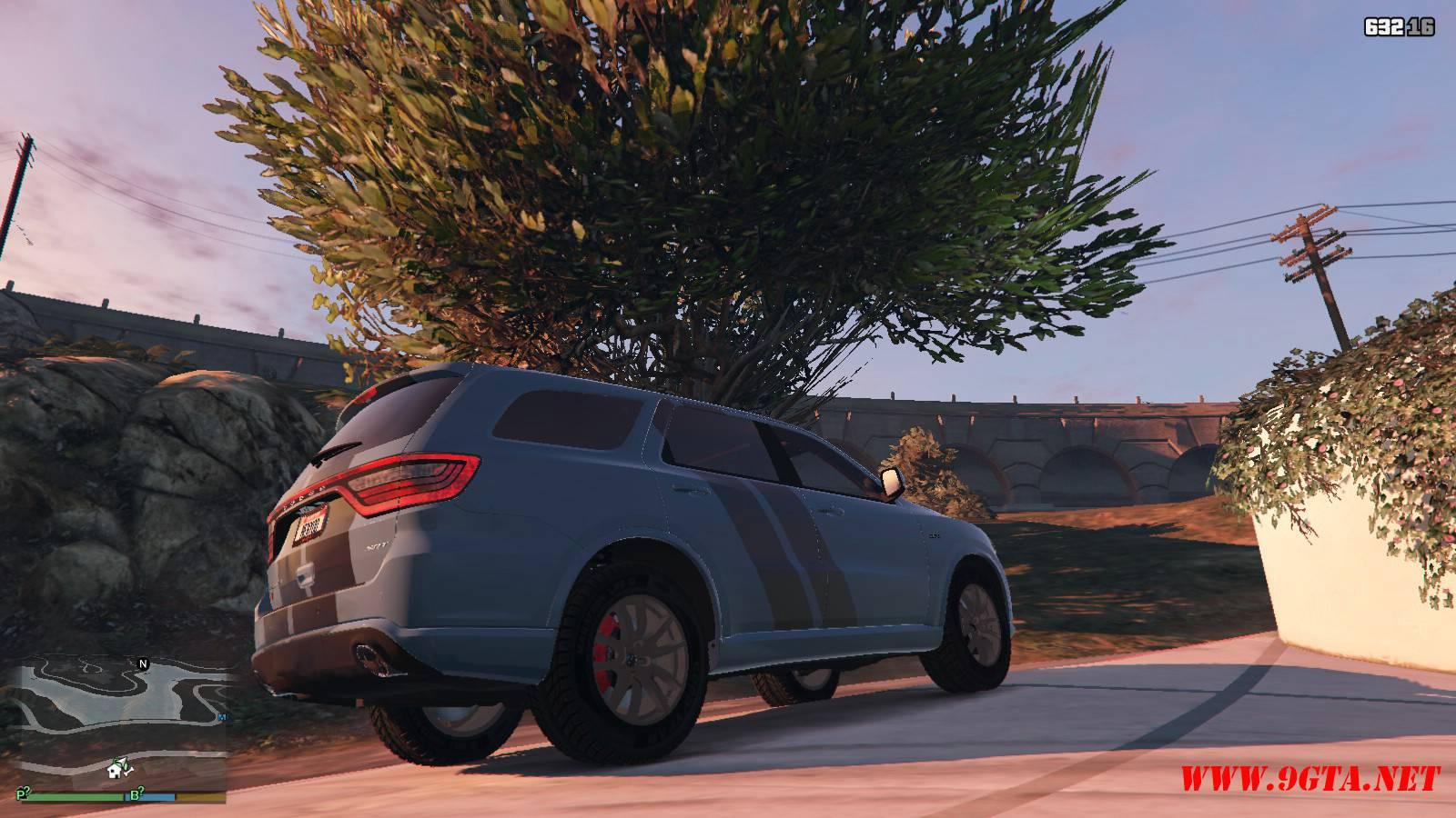 2018 Dodge Durango SRT v1.9.1 GTA5 Mods (9)