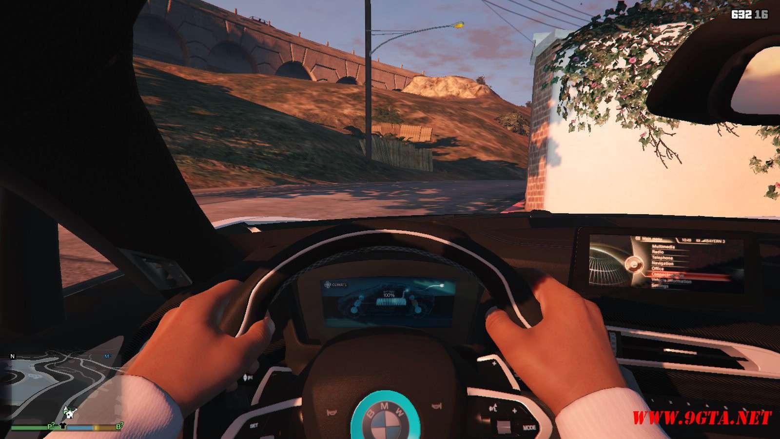 2019 BMW I8 Roadster GTA5 Mods (10)