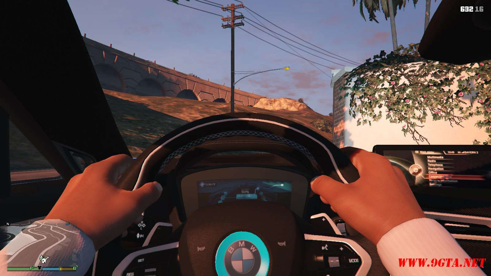 2019 BMW I8 Roadster GTA5 Mods (11)