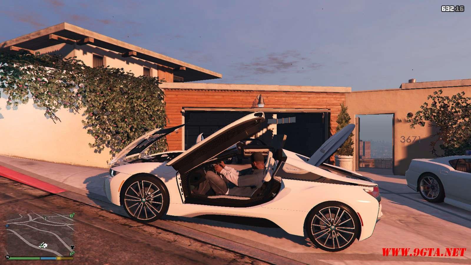 2019 BMW I8 Roadster GTA5 Mods (12)