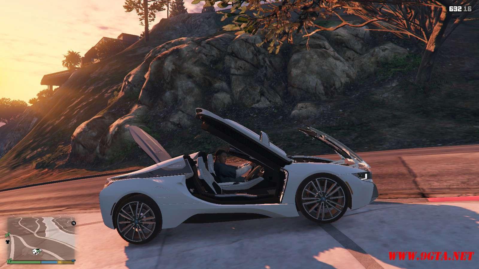 2019 BMW I8 Roadster GTA5 Mods (14)