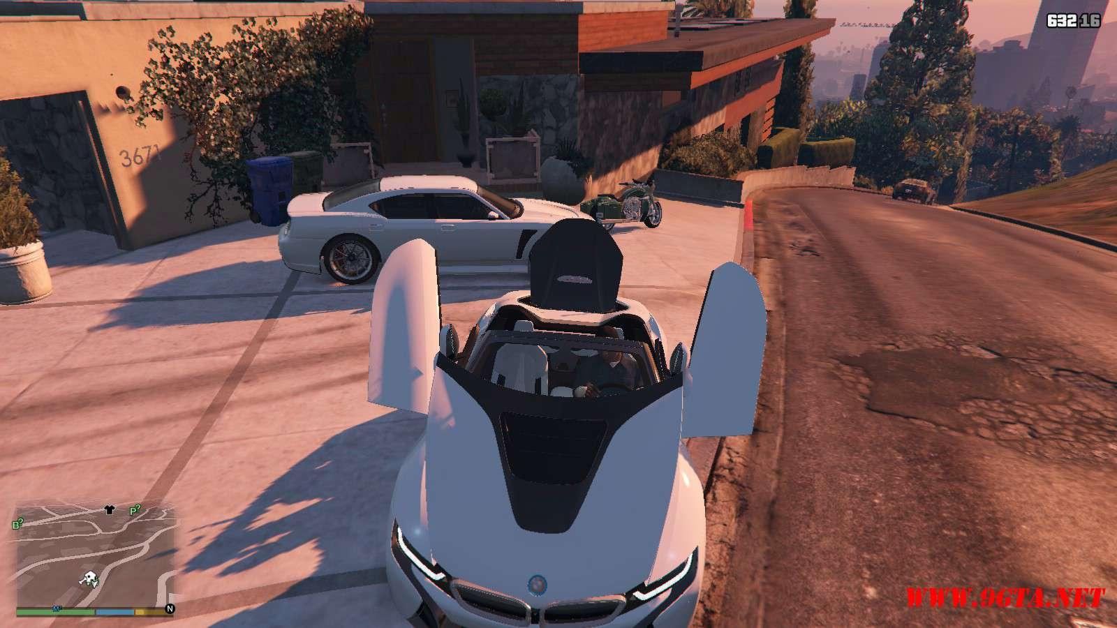 2019 BMW I8 Roadster GTA5 Mods (16)