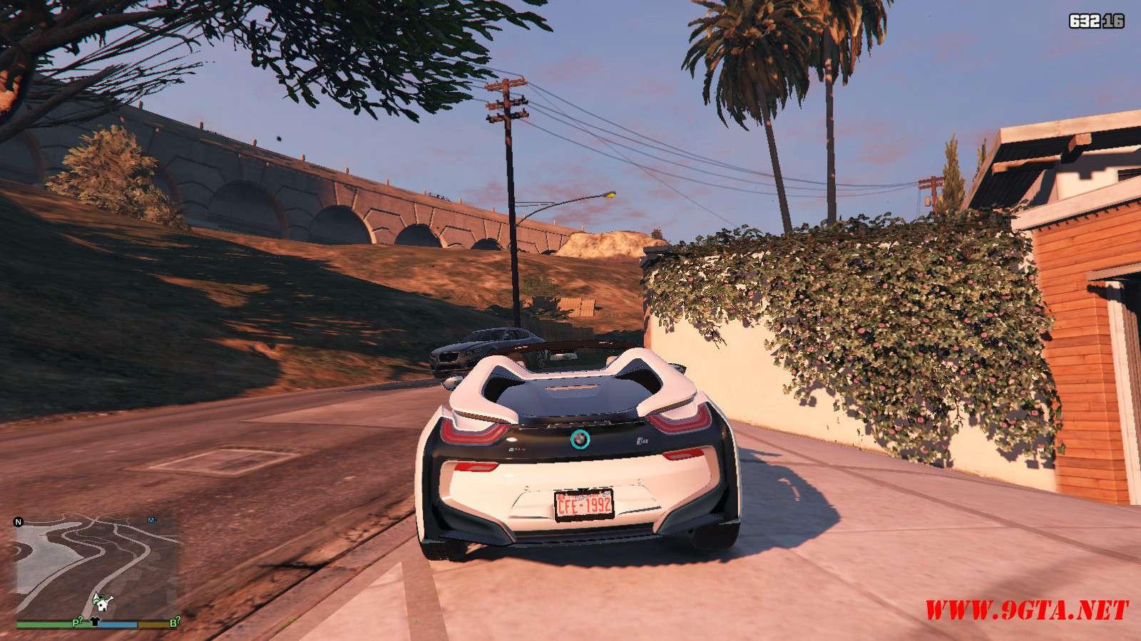 2019 BMW I8 Roadster GTA5 Mods (2)