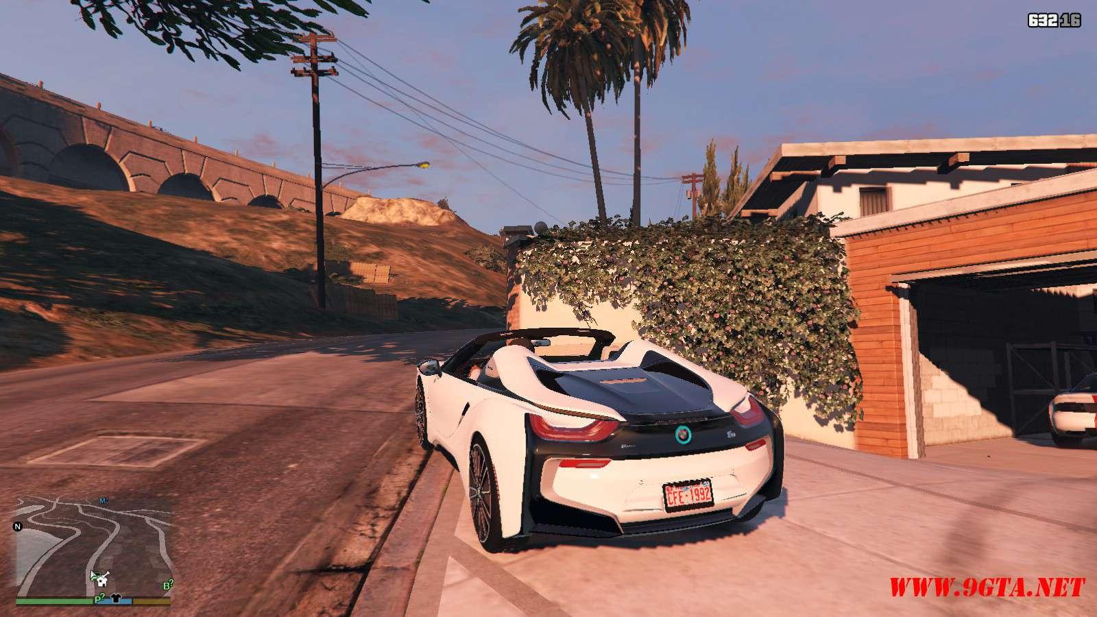 2019 BMW I8 Roadster GTA5 Mods (3)