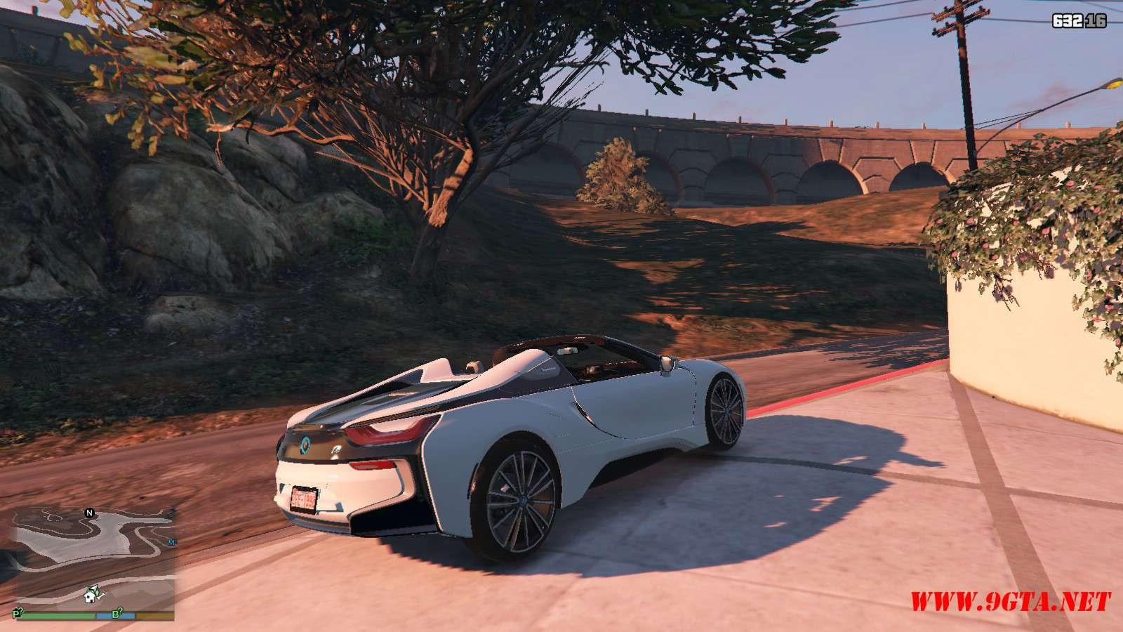 2019 BMW I8 Roadster GTA5 Mods (4)