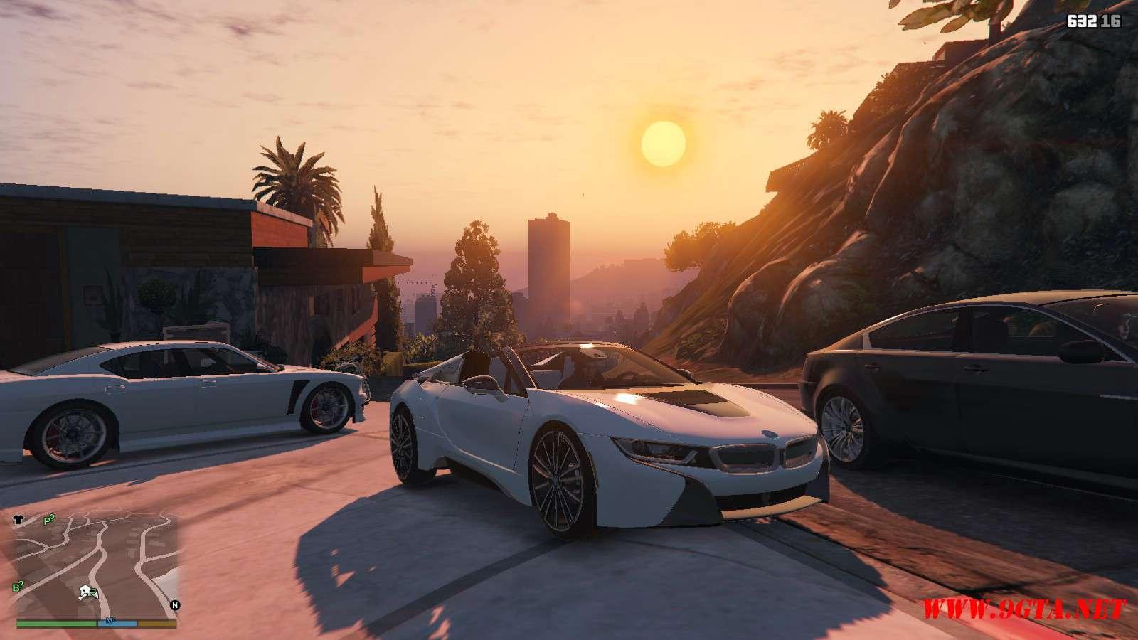2019 BMW I8 Roadster GTA5 Mods (5)