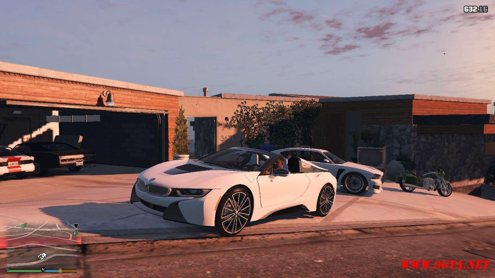 2019 BMW I8 Roadster GTA5 Mods (6)