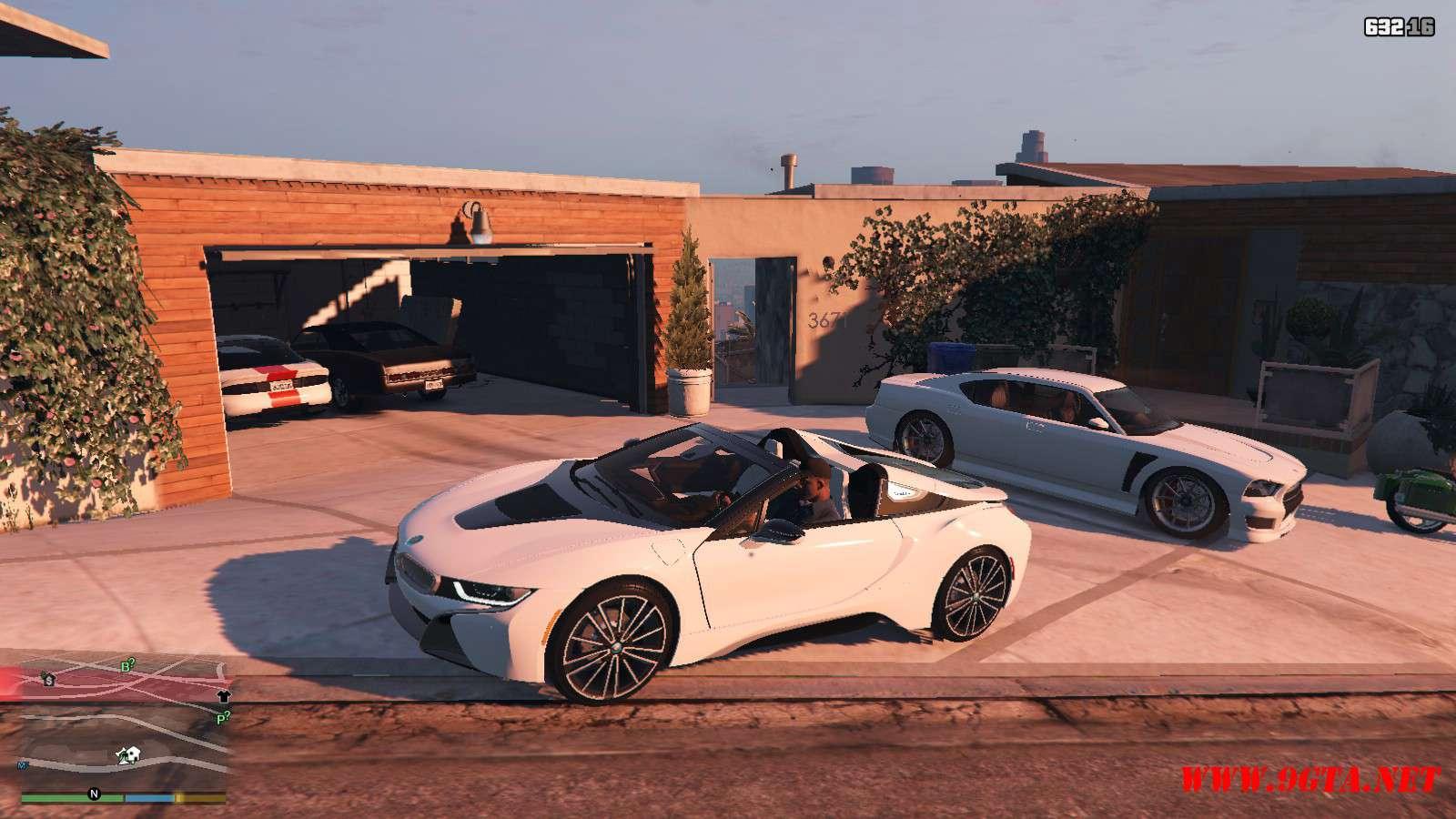 2019 BMW I8 Roadster GTA5 Mods (9)