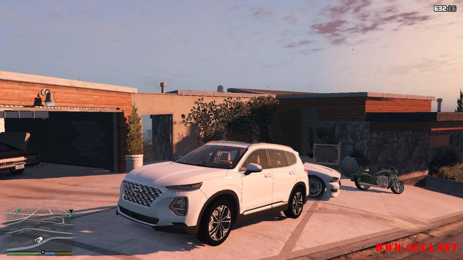 2019 Huyndai Santa Fe GTA5 mods (1)