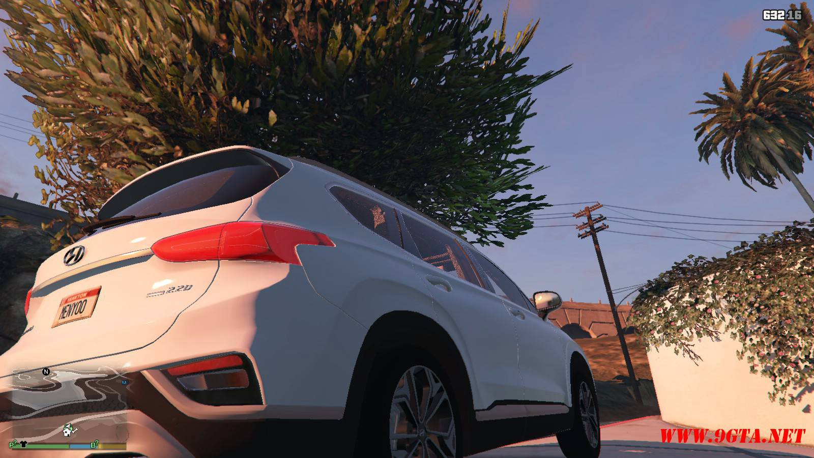 2019 Huyndai Santa Fe GTA5 mods (11)
