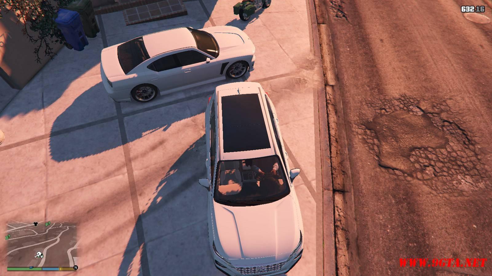 2019 Huyndai Santa Fe GTA5 mods (12)