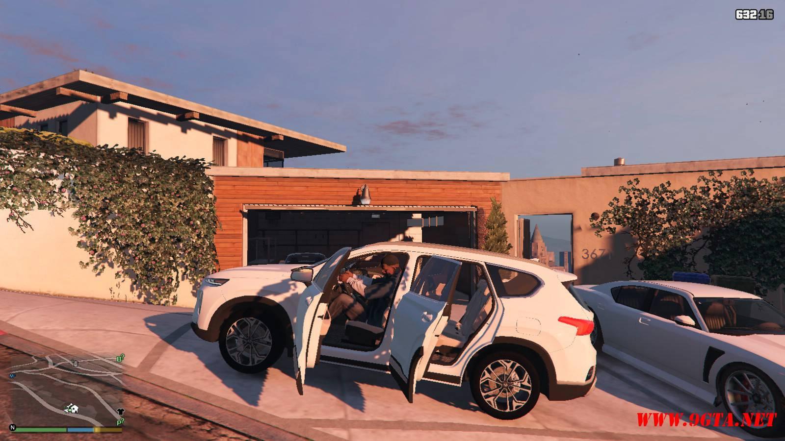 2019 Huyndai Santa Fe GTA5 mods (13)
