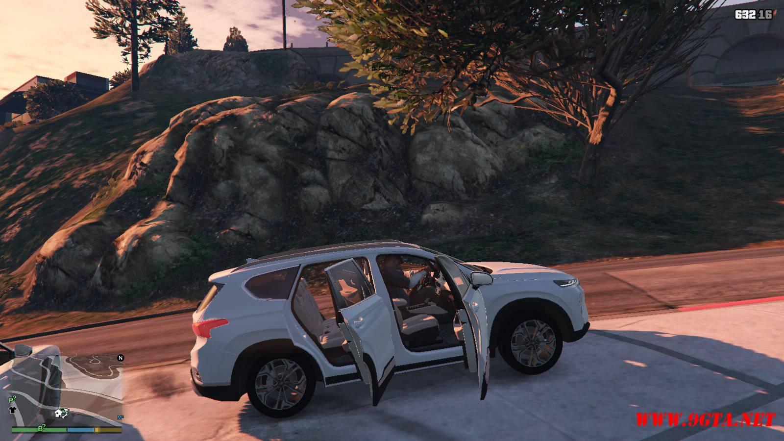 2019 Huyndai Santa Fe GTA5 mods (14)