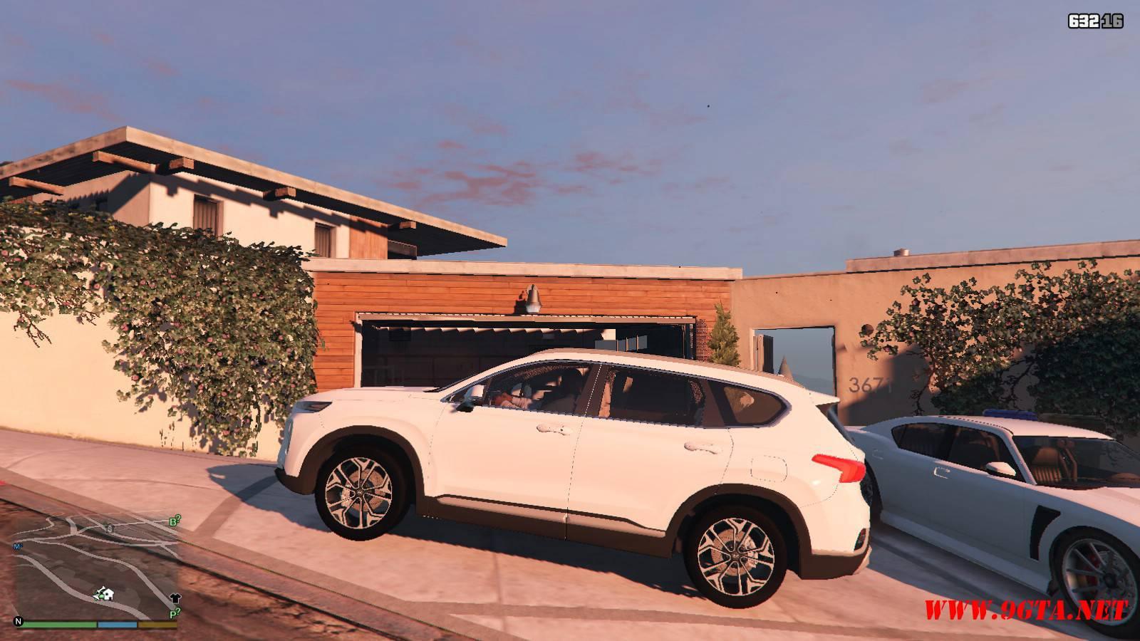 2019 Huyndai Santa Fe GTA5 mods (2)