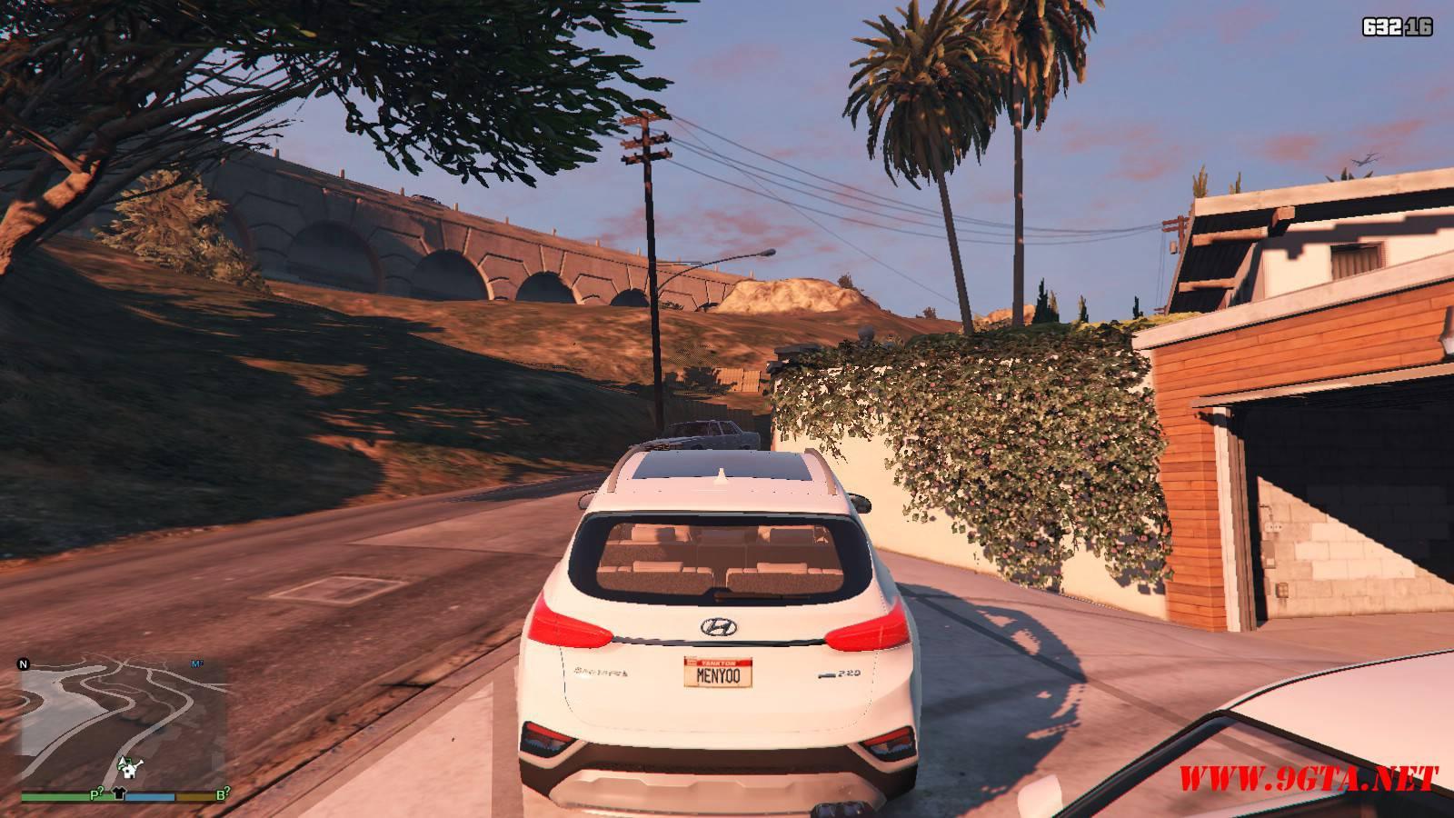 2019 Huyndai Santa Fe GTA5 mods (3)