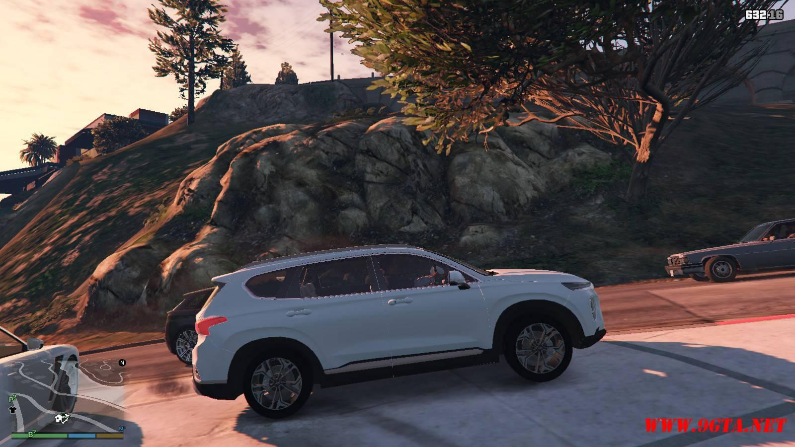 2019 Huyndai Santa Fe GTA5 mods (4)