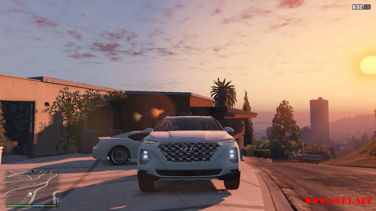 2019 Huyndai Santa Fe GTA5 mods (6)