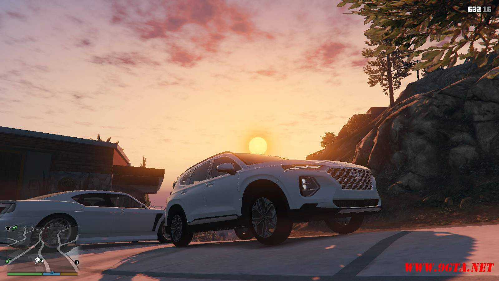 2019 Huyndai Santa Fe GTA5 mods (8)