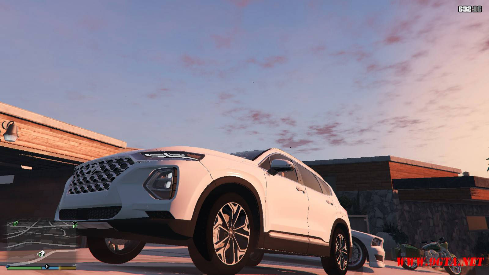 2019 Huyndai Santa Fe GTA5 mods (9)