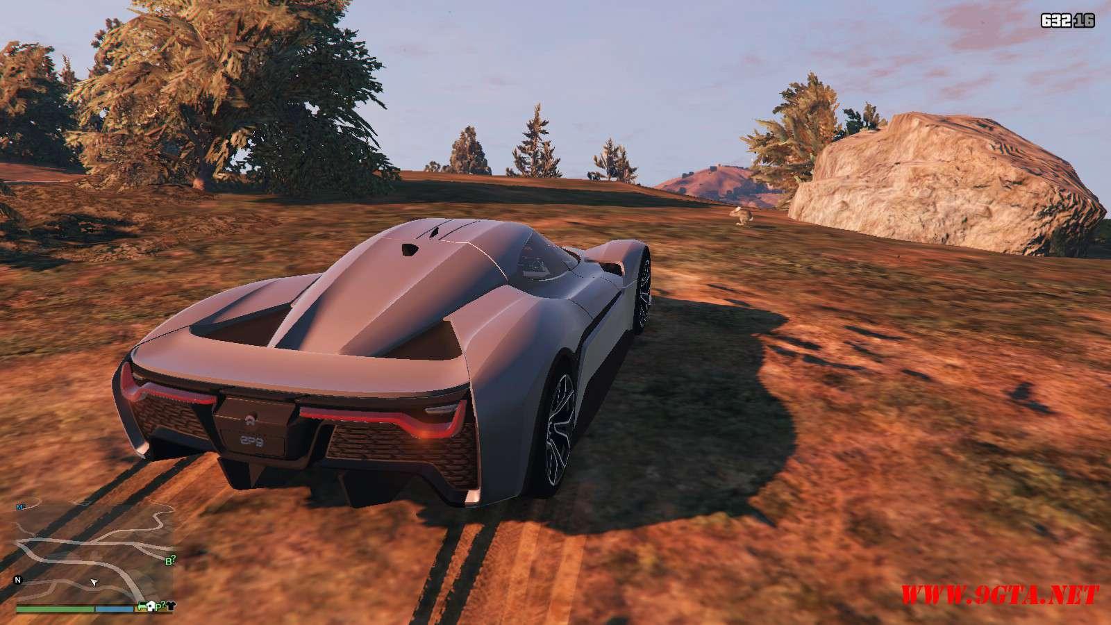 2019 NIO EP9 GTA5 Mods (10)
