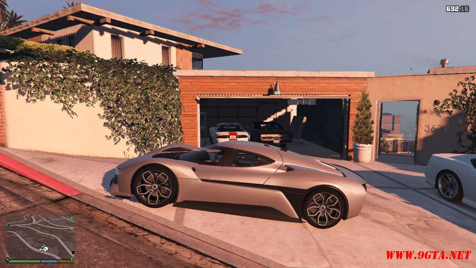 2019 NIO EP9 GTA5 Mods (2)