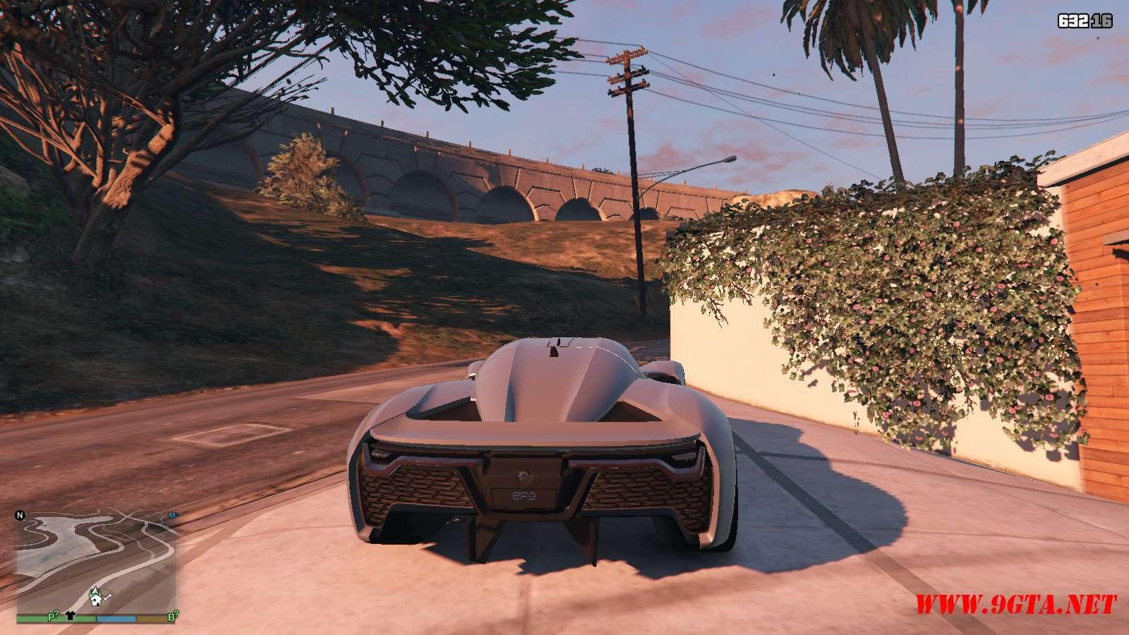 2019 NIO EP9 GTA5 Mods (3)