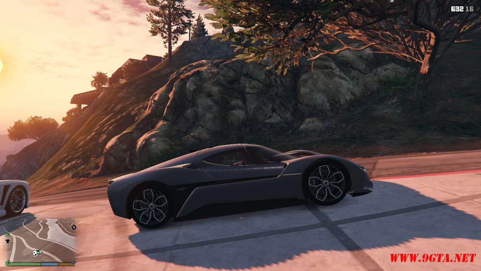 2019 NIO EP9 GTA5 Mods (4)