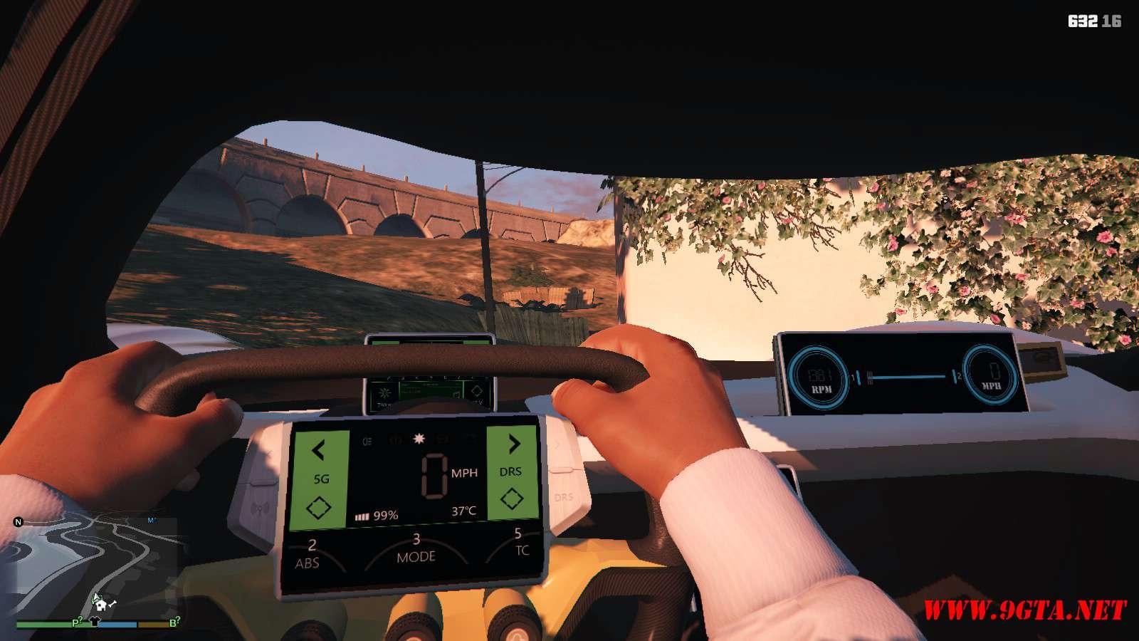 2019 NIO EP9 GTA5 Mods (8)