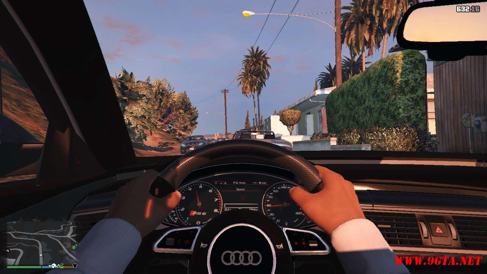 Audi RS6 Prior GTA5 Mods (14)