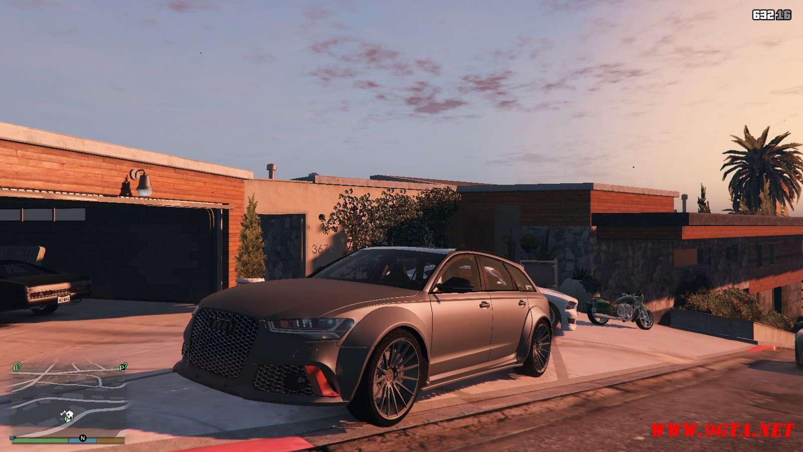 Audi RS6 Prior GTA5 Mods (8)