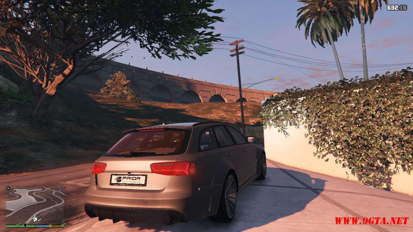 Audi RS6 Prior GTA5 Mods (9)