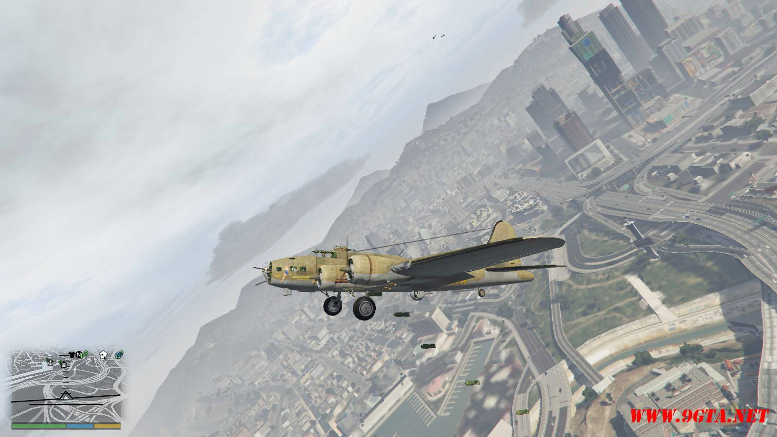 B-17E Flying Fortress Mod For GTA5 (11)