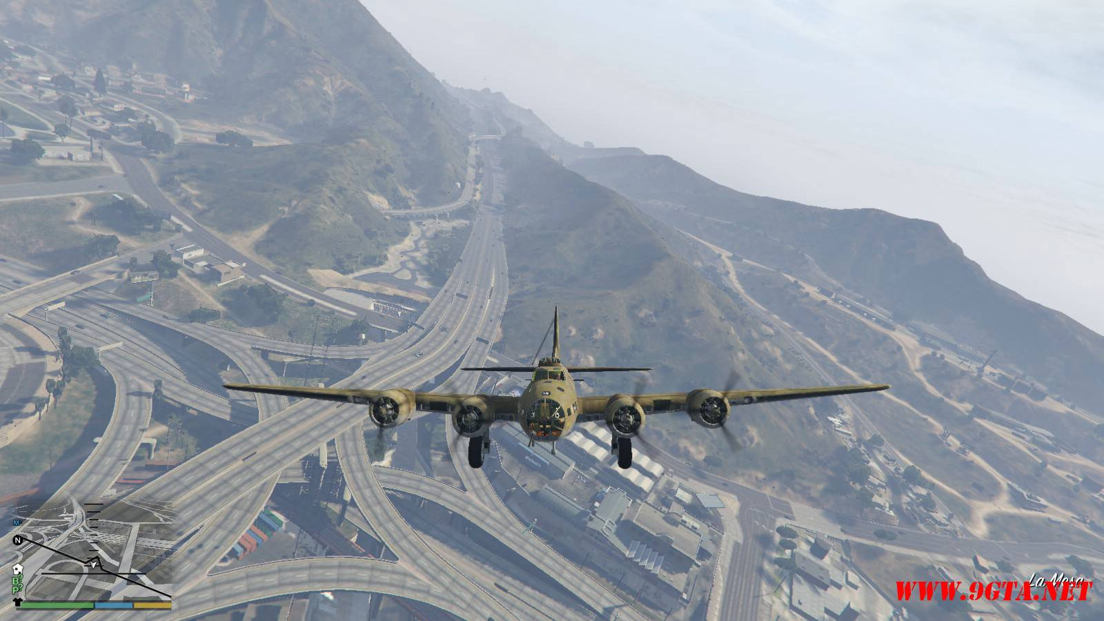 B-17E Flying Fortress Mod For GTA5 (2)