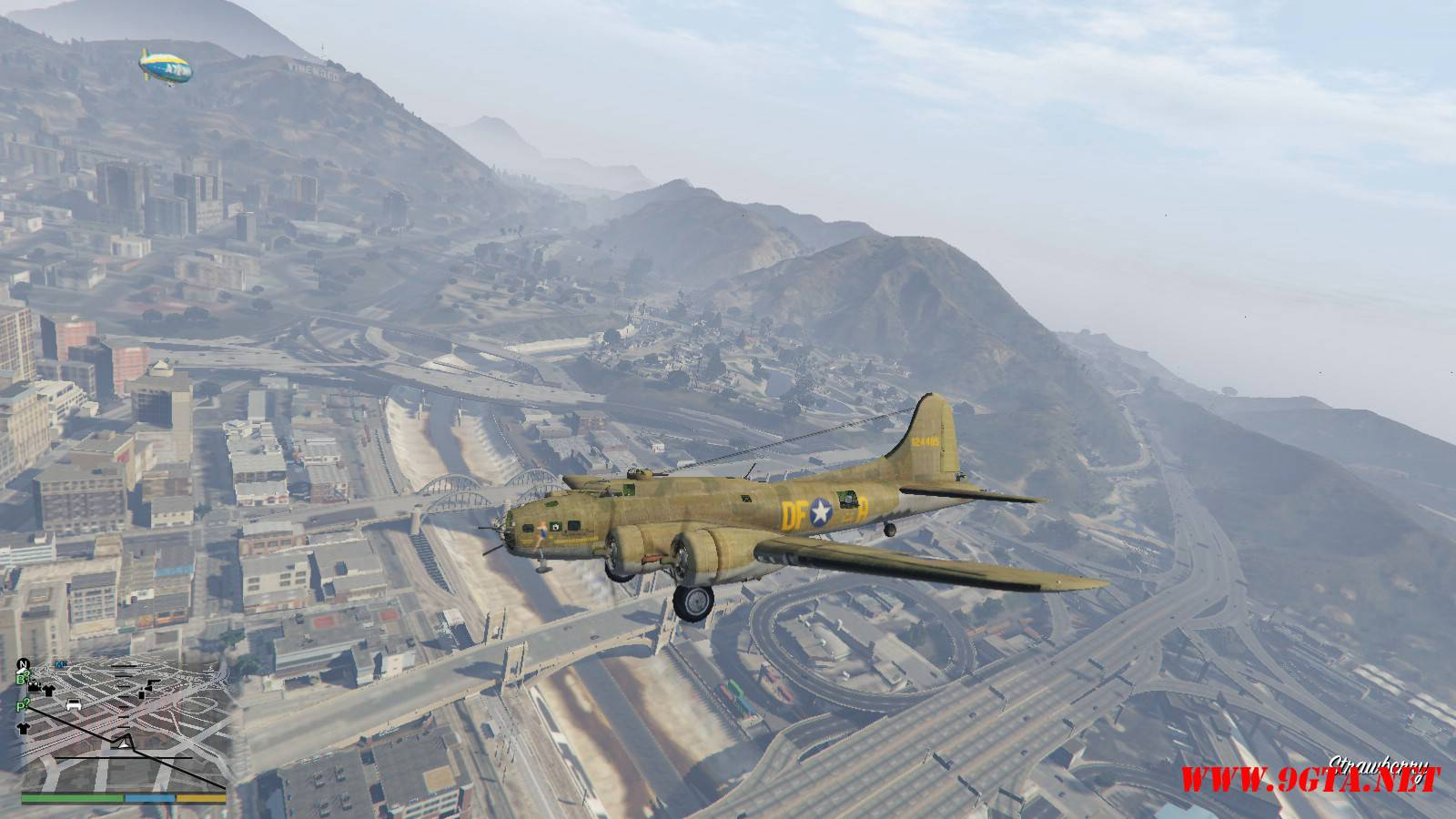 B-17E Flying Fortress Mod For GTA5 (5)