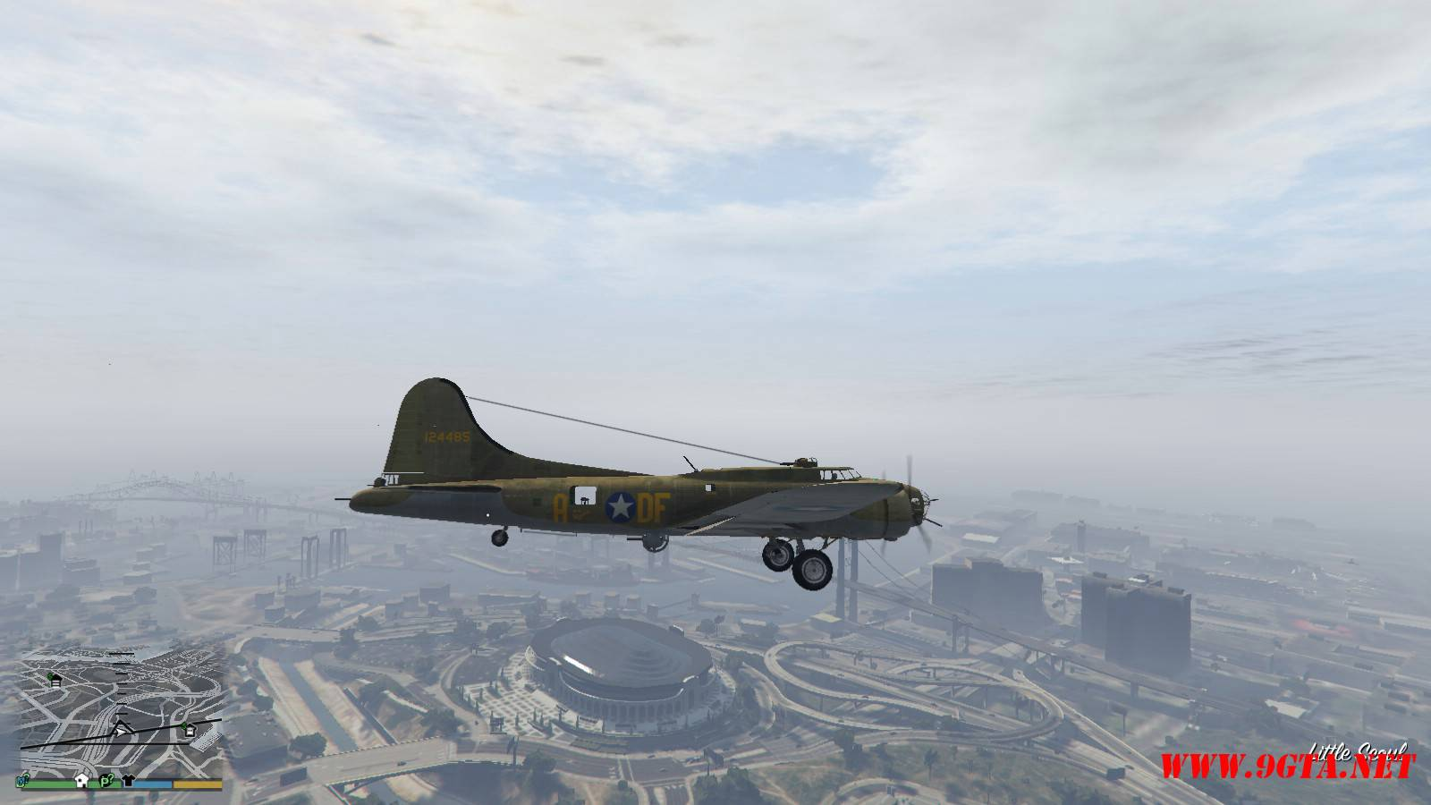 B-17E Flying Fortress Mod For GTA5 (8)