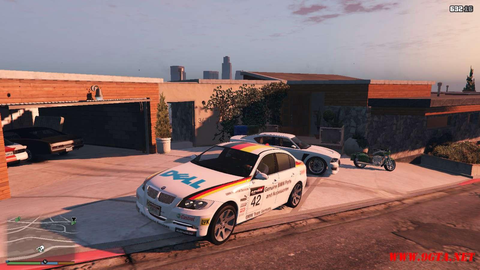 BMW 330i E90 v1.6 GTA5 Mods (2)