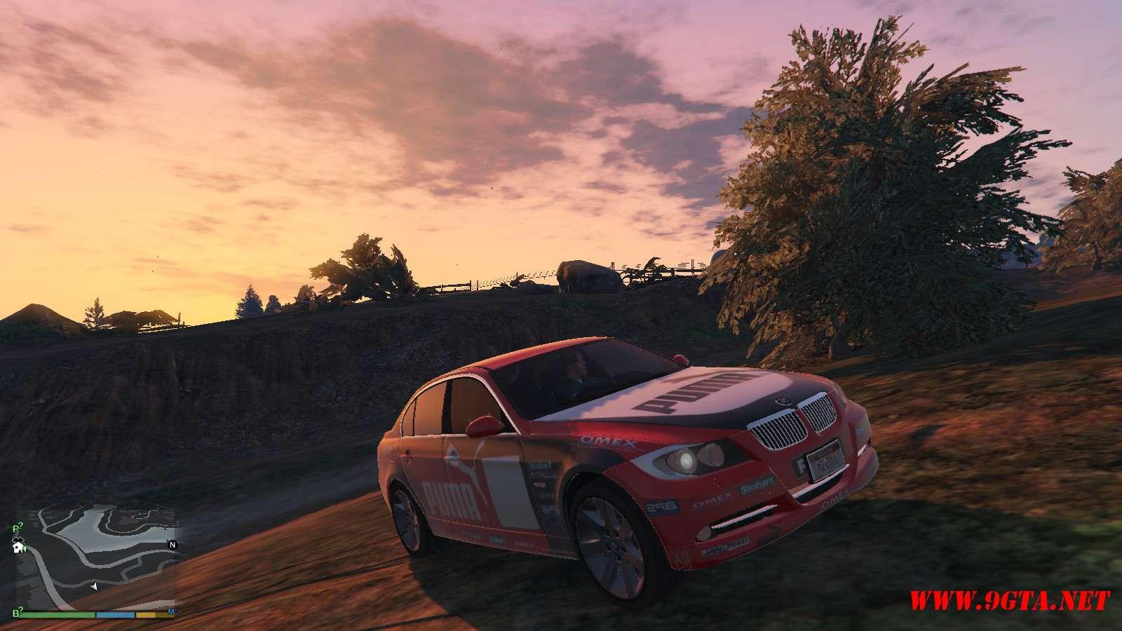 BMW 330i E90 v1.6 GTA5 Mods (21)