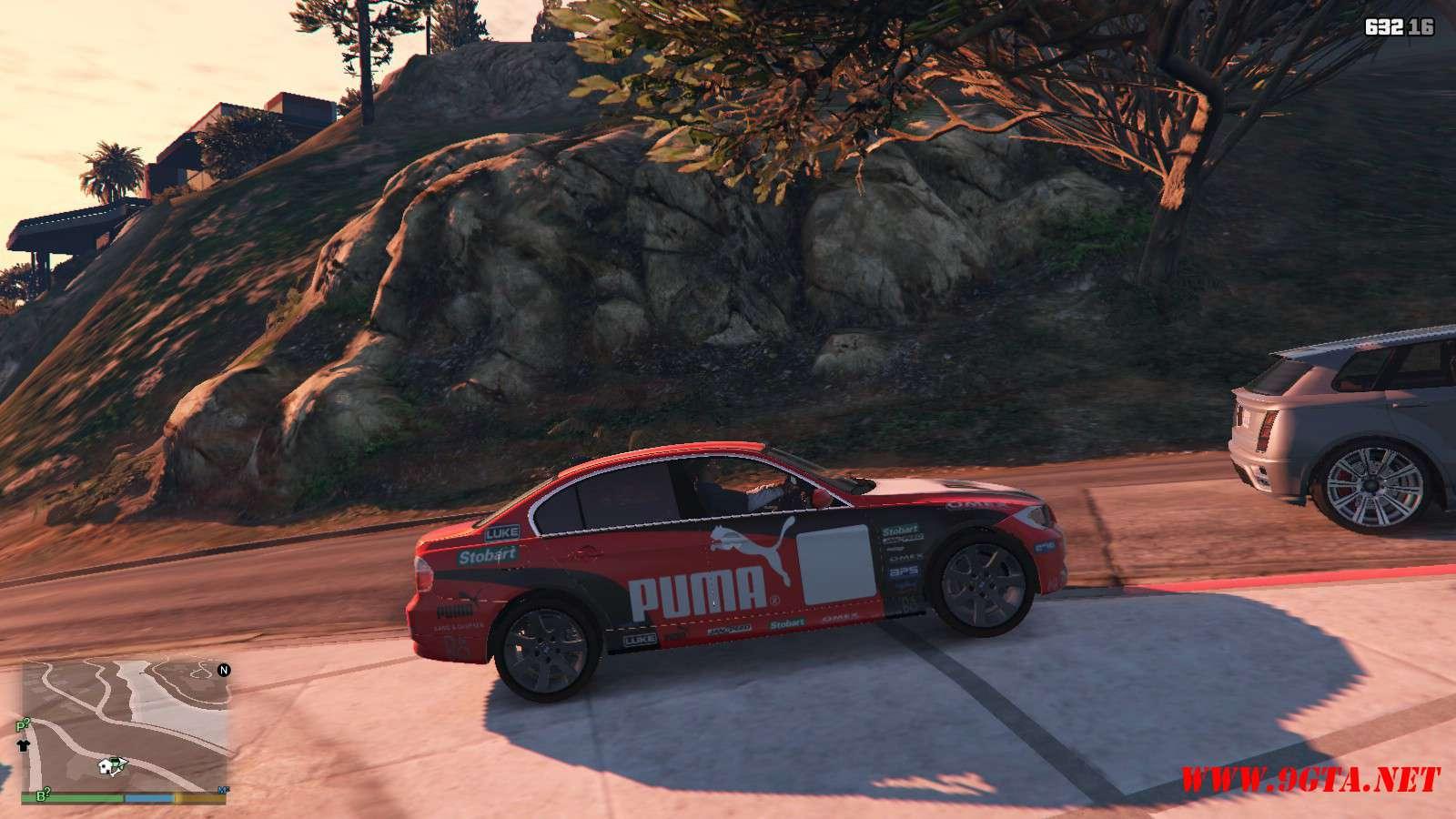 BMW 330i E90 v1.6 GTA5 Mods (6)