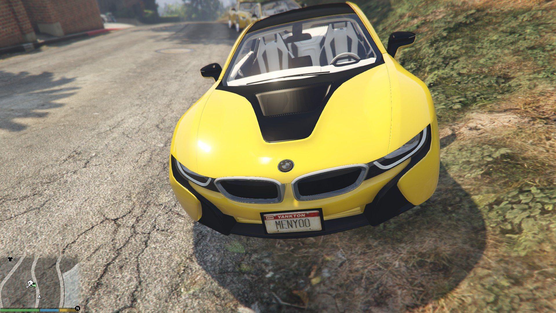 BMW I8 GTA5 Mods (6)