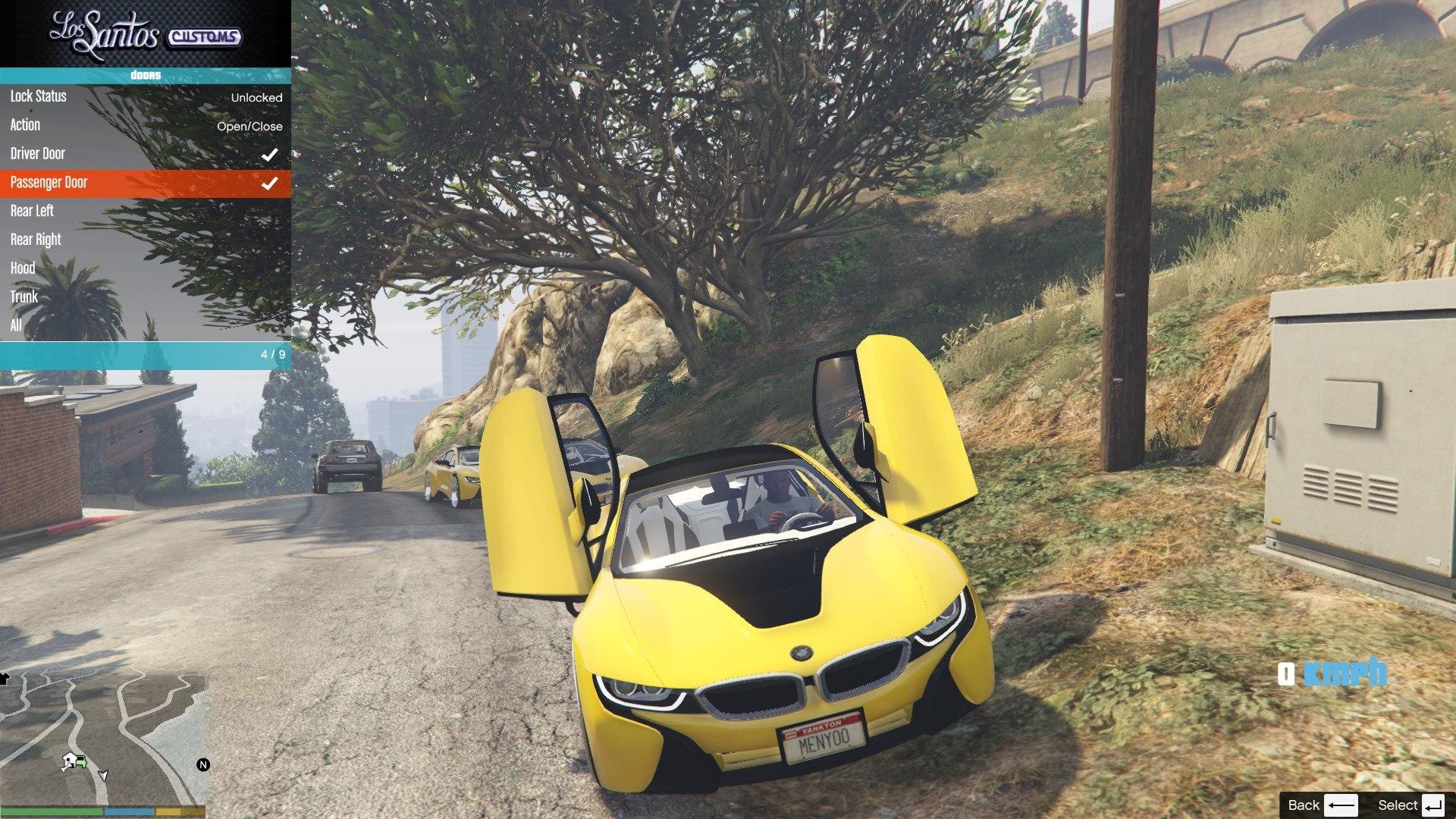 BMW I8 GTA5 Mods (8)