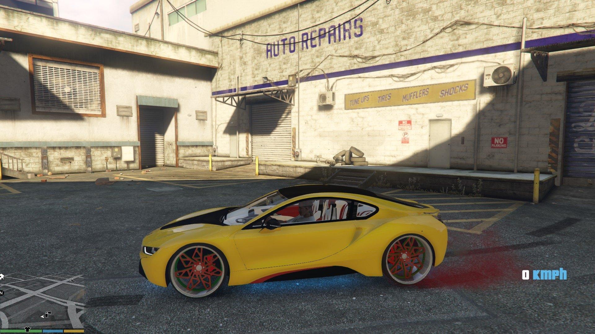 BMW I8 GTA5 Mods (9)