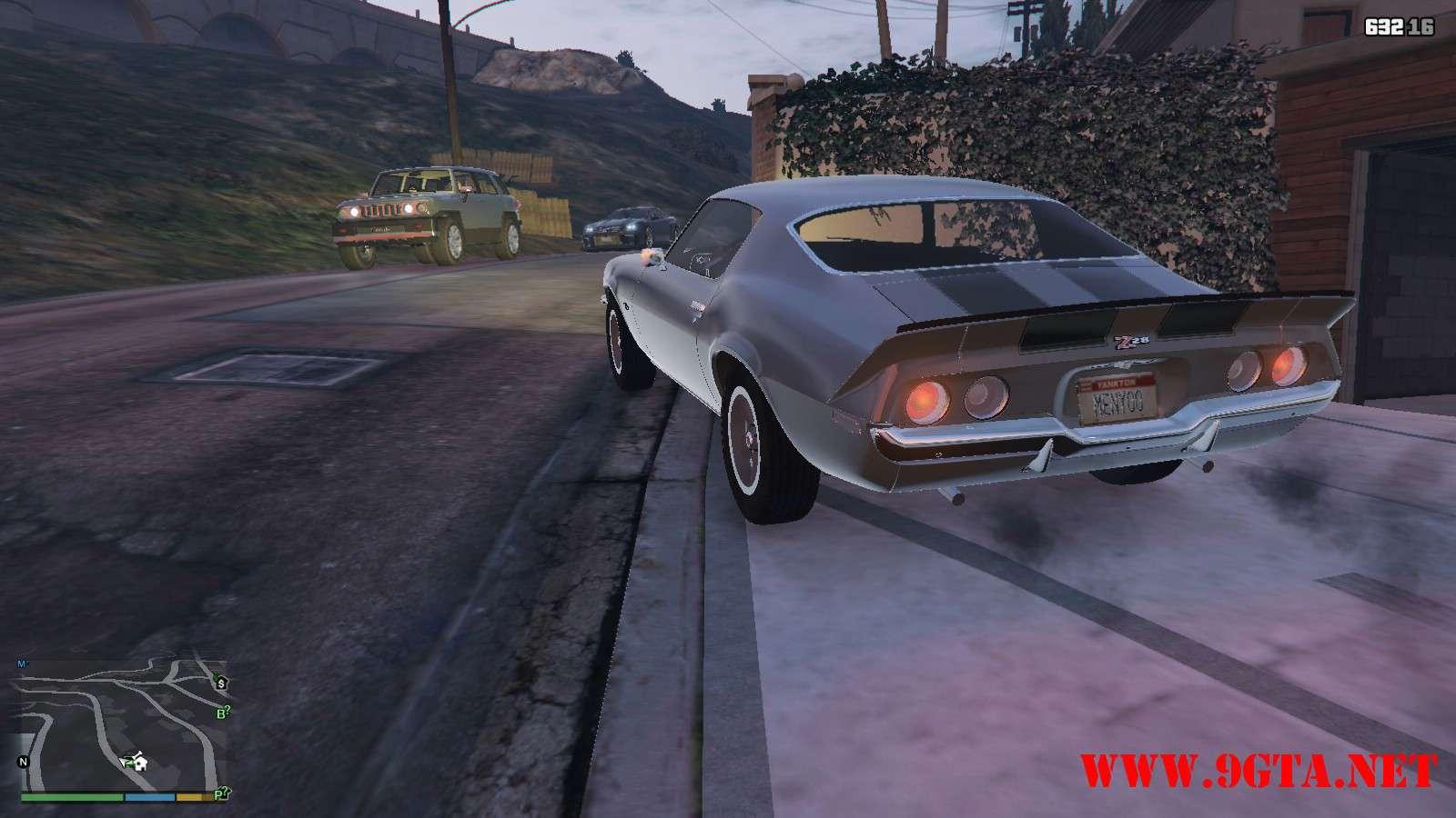 Chevrolet Camaro Z28 '70 v1.1 GTA5 Mods (13)