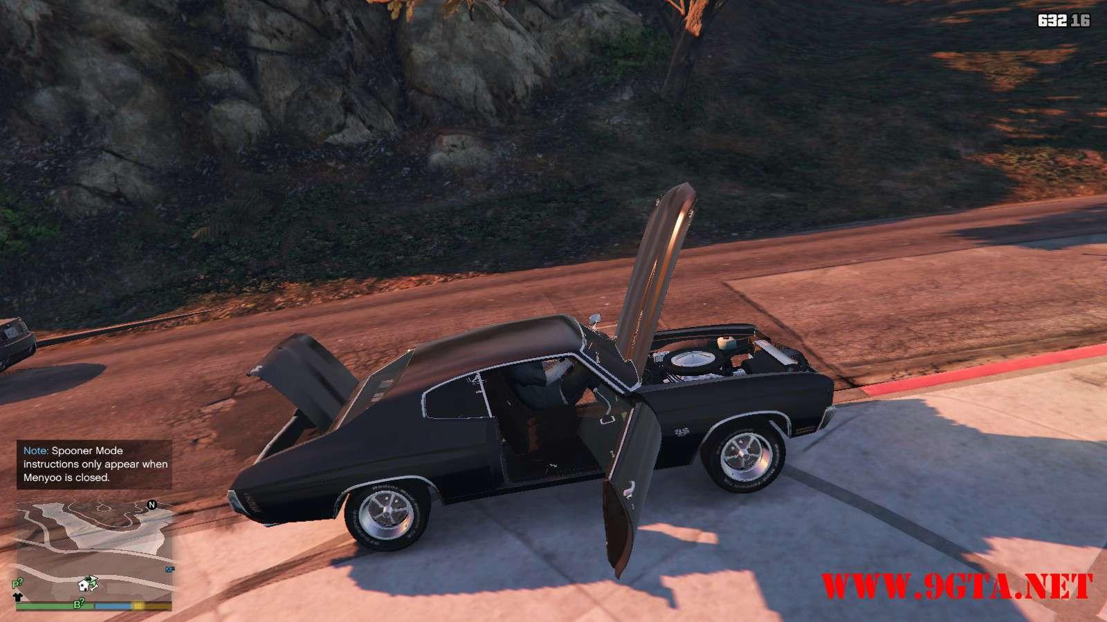 Chevrolet Chevelle SS v1.1 GTA5 Mods (13)