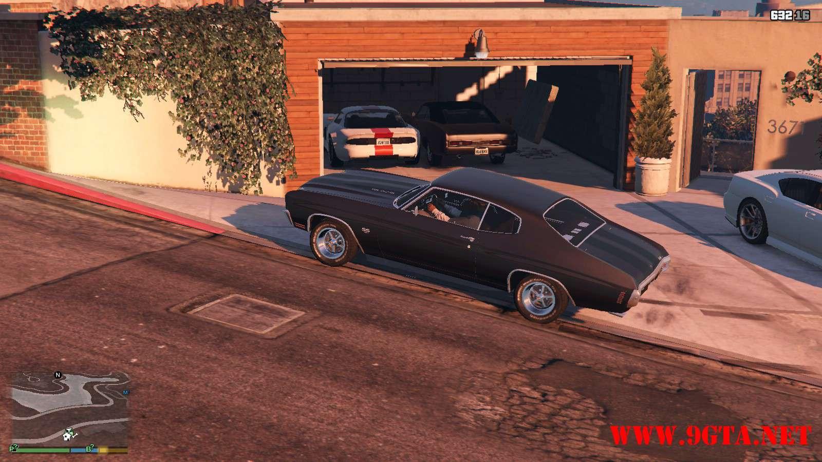Chevrolet Chevelle SS v1.1 GTA5 Mods (16)